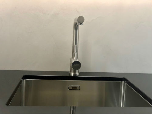 Küche Fliesenspiegel Topciment fugenlos 02