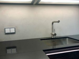 Küche Fliesenspiegel Topciment fugenlos 03