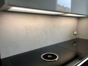Küche Fliesenspiegel Topciment fugenlos 06