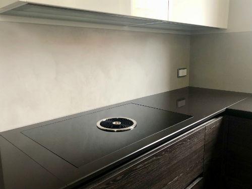 Küche Fliesenspiegel Topciment fugenlos 09